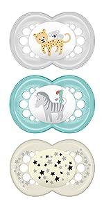 Establecer Boy 16plus MAM Baby Products 99970111 D/ía y Noche Chupete
