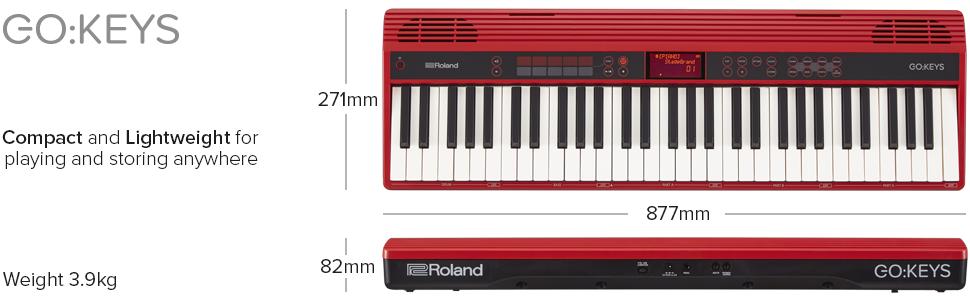 Roland GO-61K Teclado electrico : Amazon.es: Instrumentos ...