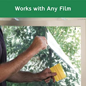 Use with any window film