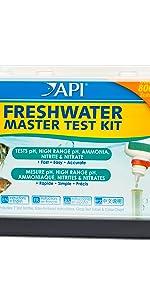 API master test kit strip tube freshwater water checking monitoring fixing testing levels ph nitrite