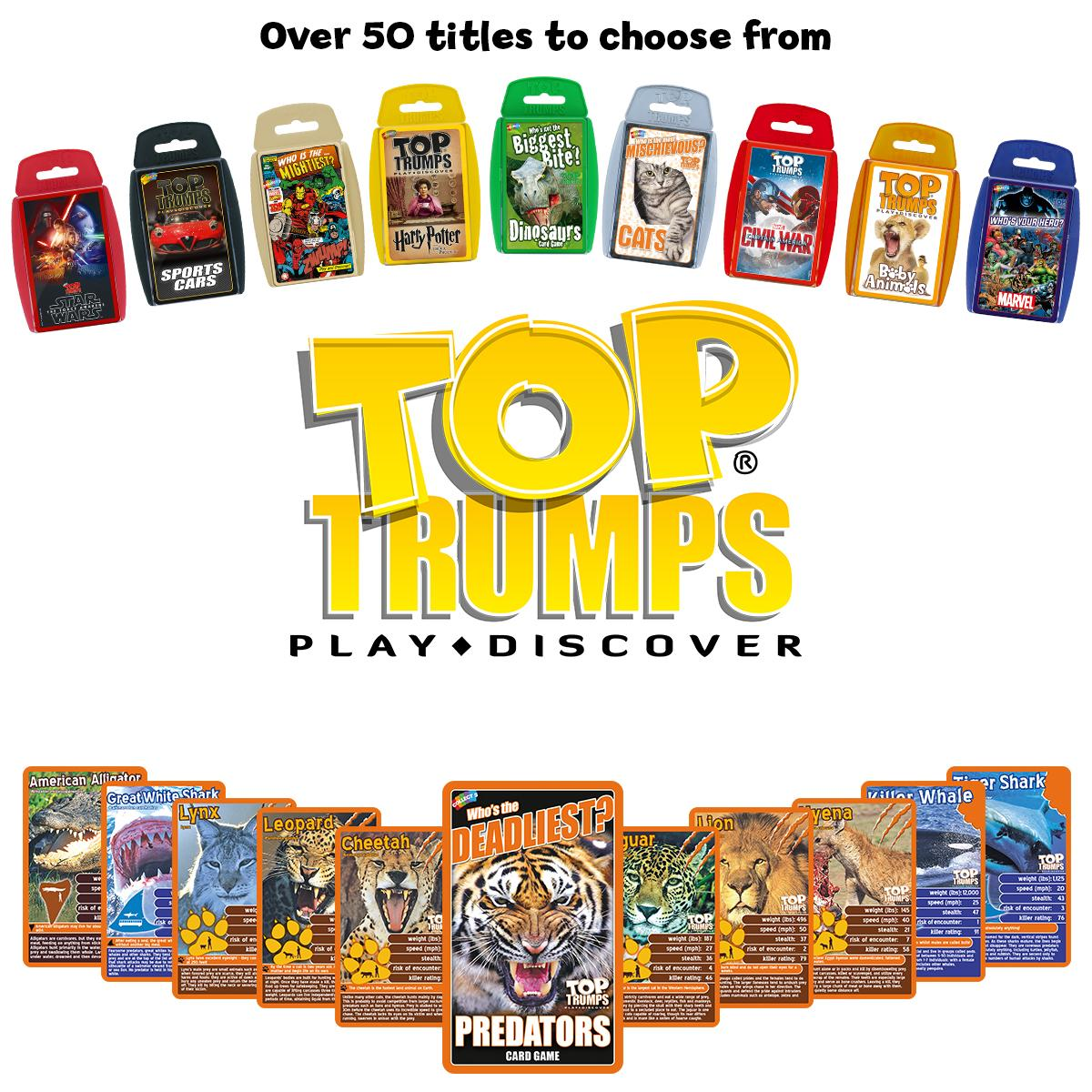 how to play trumps card game