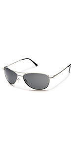 sunglasses aviator metal alloy durable spring hinges silicone nose pads