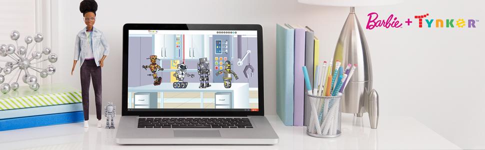 engineer barbie; robot barbie; science toy
