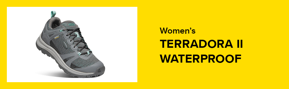 KEEN Terradora 2 Low Height Waterproof Chaussure de randonn/ée Femme