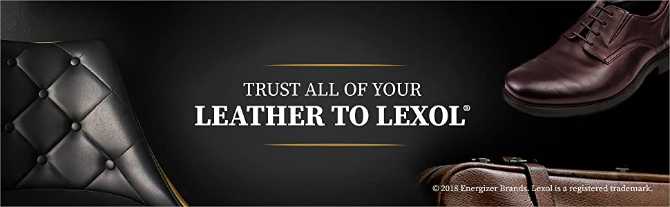 Trust all of your leather to lexol