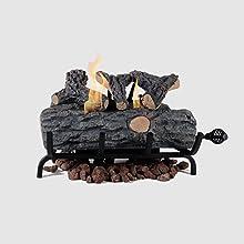 Ventless Fire Log Insert