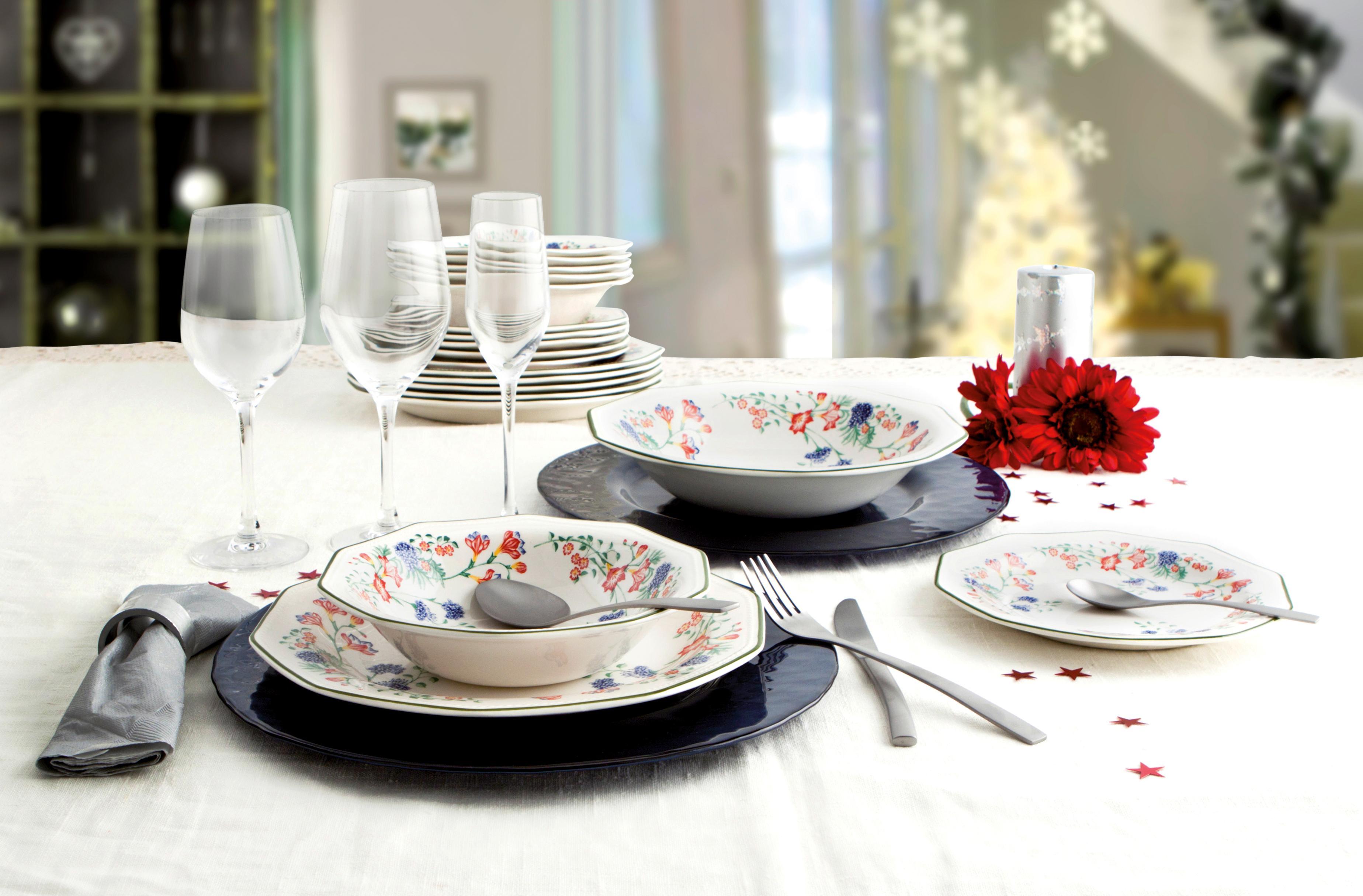 Churchill emily vajilla de loza inglesa tama o 18 piezas decorado floral hogar - Vajilla inglesa ...