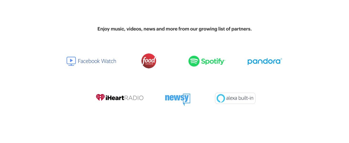 Facebook Portal  Smart, Hands-Free Video Calling with Alexa Built-in
