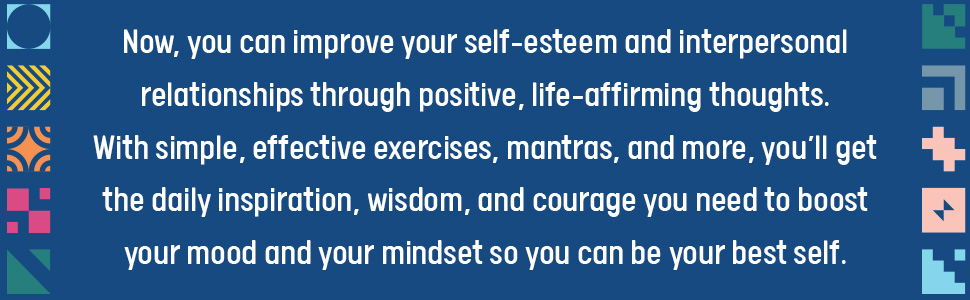 positive thinking, self help books, motivational books, inspirational books, daily affirmations