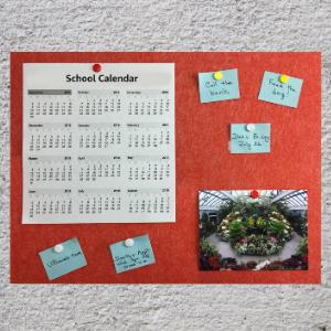bulletin board message board notes photos