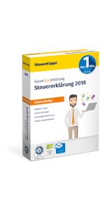 SteuerSparErklärung, Selbststaendige, Verpackung, 2019