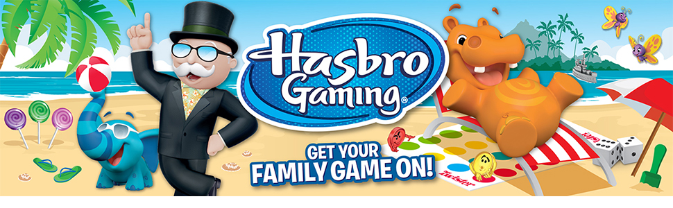 hasbro;hasbro gaming;monopoly;twister;jenga;games;kids;cluedo;guess who