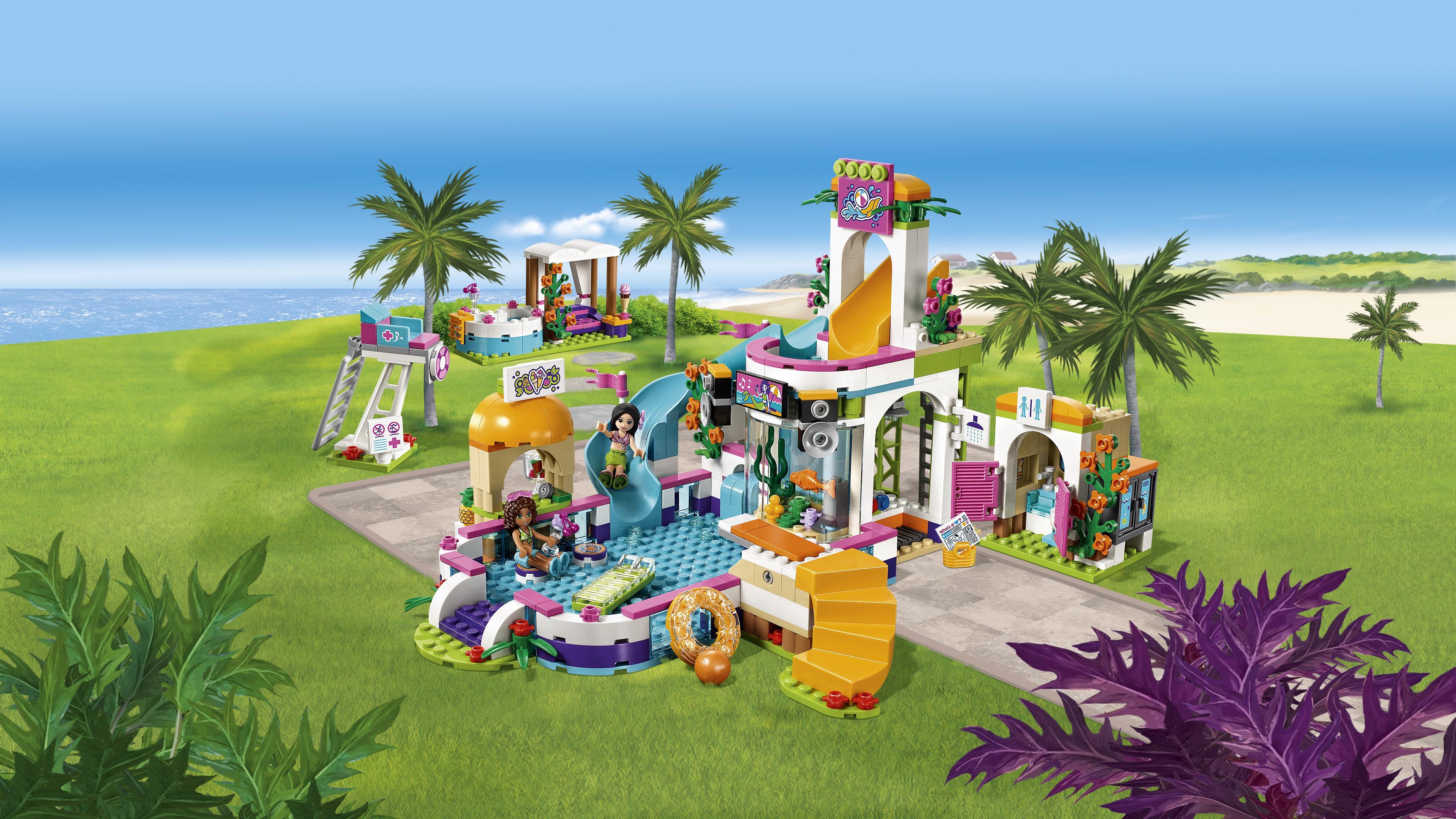 Lego friends heartlake freibad amazon spielzeug
