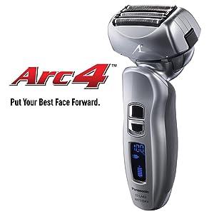 Panasonic Electric Shaver and Trimmer for Men ES-LA63-S ARC4