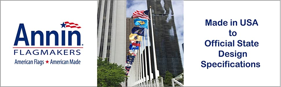 printed state flags made to specifications