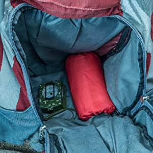 Compact and easy to pack, fits easily into most bags