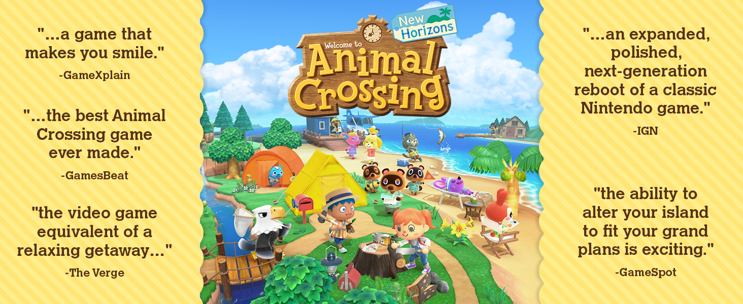 Amazon Com Animal Crossing New Horizons Nintendo Switch