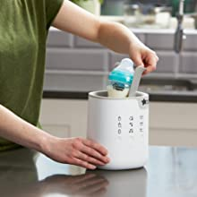 bottle feeding, bottle warming, bottle and pouch warmer