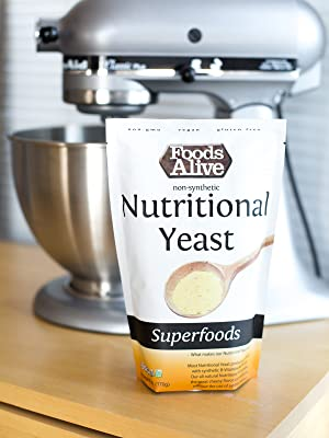 Nutritional Yeast - Non Fortified, Non-GMO Vegan Cheese Tasting Substitute