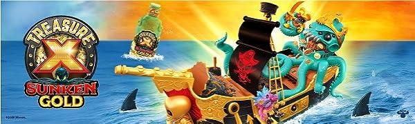 Treasure X Sunken Gold Bottle Smash Blind Mystery Single Pack