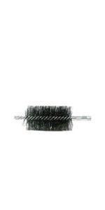 Double Spiral Flue Brush, .012 Steel Fill