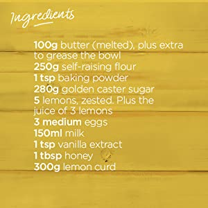 Lemon Lush Pudding Ingredients