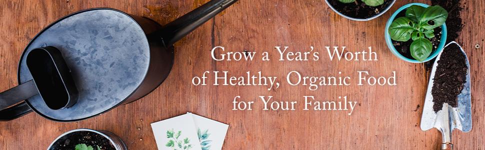 Year food garden gardening family