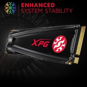 XPG Gammix S5 512GB PCIe 3D NAND PCIe Gen3x4  SPN-FOR1