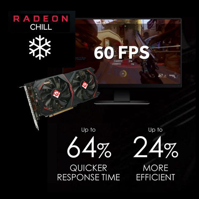 Diamond Multimedia AMD Radeon 8GB GDDR5 Memory PCI-E