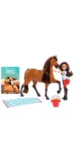 Netflix Spirit, Lucky, Abigail, Prudence, Spirit, Boomerang, Chica Linda, horse dolls, Breyer horse