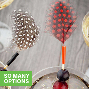 These Bloody Mary skewers come in many designs so you can choose the perfect pick for your party.