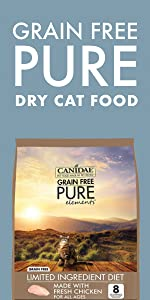 dry cat food limited ingredient grain free