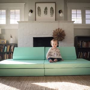 Foamnasium Blocksy Kids Couch, White, Toys & Games ...