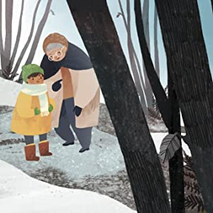 """When I went back to stay with Granny, it was winter. I asked her, """"Can we go to the secret glade?"""""""
