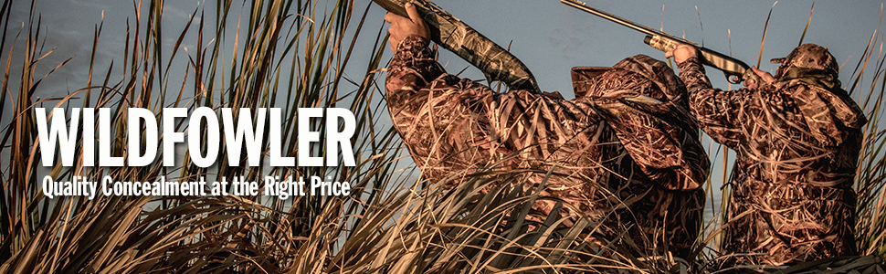 wildfowler, wildfowler outfitter, camo, affordable camo, cheap camp,