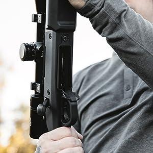 Magpul Hunter 700L Remington 700 Long Action Stock, Black