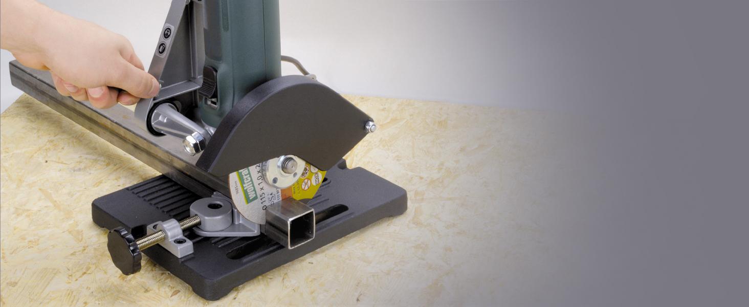 Profi Trennständer für Winkelschleifer Winkelhalter Ständer Ø115-125mm