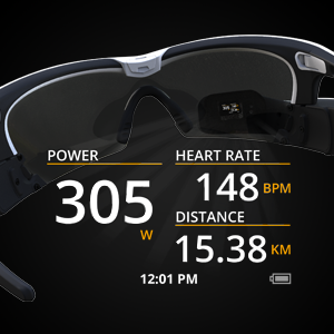 1e8a4dceeda Amazon.com  Recon Jet Smart Eyewear for Sports and Fitness - Black ...