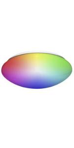 "14"" Smart WiFi RGB + Ceiling Fixture"