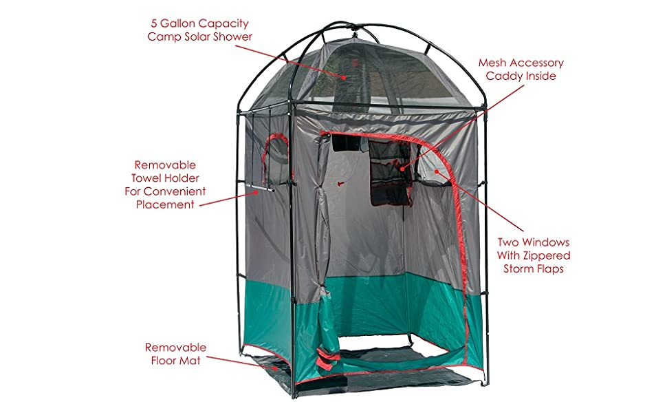 01082 Deluxe Camp Shower Shelter camp camping outdoors