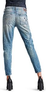 1a4656c546db G-STAR Damen Midge Straight Jeans  Amazon.de  Bekleidung