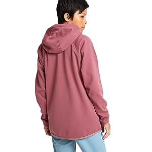 burton womens fleece shirt buttons anorak zip up sherpa patagonia columbia outdoor fall fleece soft