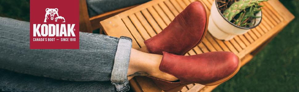 Kodiak, Low rider v cut, women's shoes, combat boots for women, brown boots women, chelsea boot