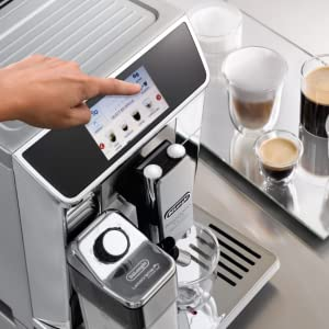 Colour Display DeLonghi coffee machines