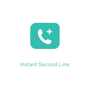 Ooma instant second line