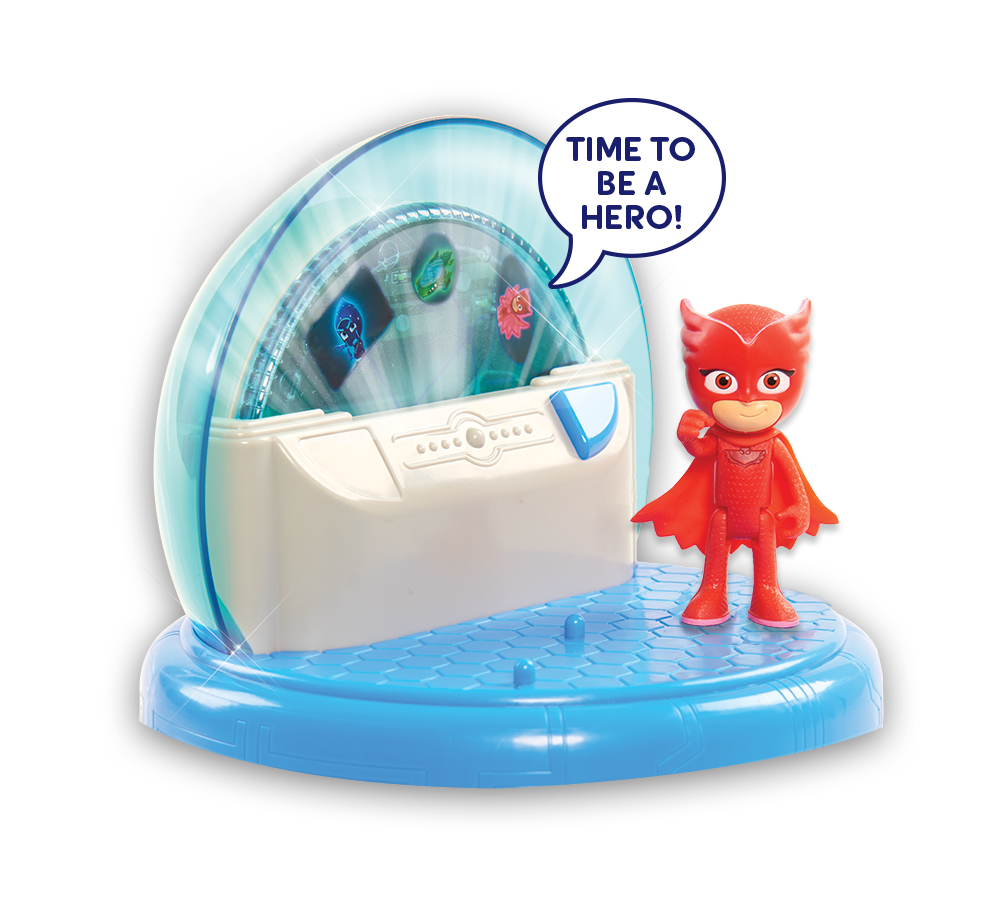 Just Play Toys : Amazon just play pj masks headquarters playset toys