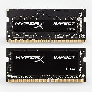 HyperX, Impact, DDR4, SODIMM, DRAM, Laptop, PC, upgrade