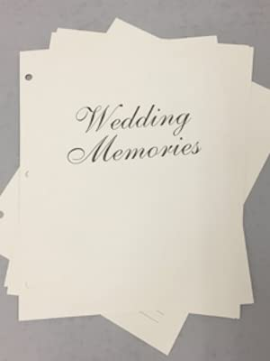 Black A01090MB//BLK Ivy Lane Design Elizabeth Wedding Memory Book