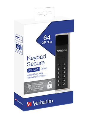Verbatim Keypad Secure Usb Stick I Usb 3 2 Gen 1 I 64gb Computer Zubehör