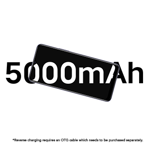 18W Fast Charge + 5000mAh Battery